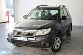 Unreserved 2010 Subaru Forester X S3 Automatic