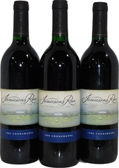 Jamiesons Run Cabernet Shiraz Merlot 1999 (3x 750mL), Coonawarra. Cork