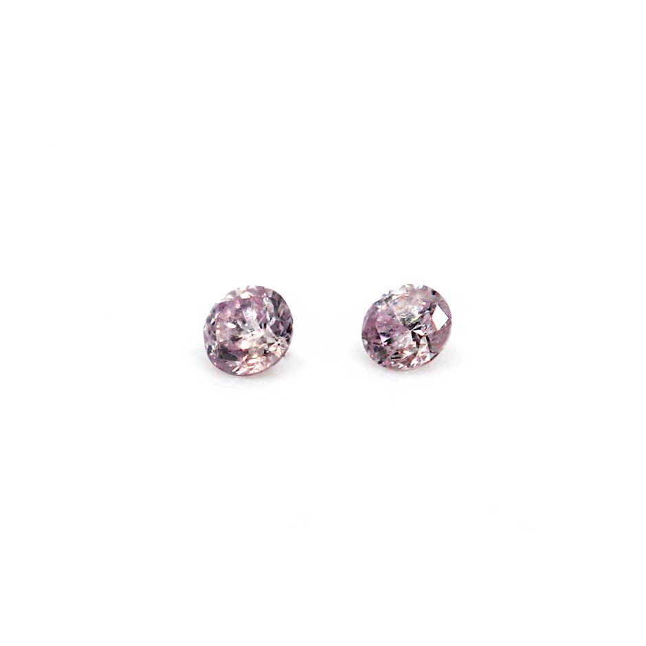 0.025 ct Pink Diamonds