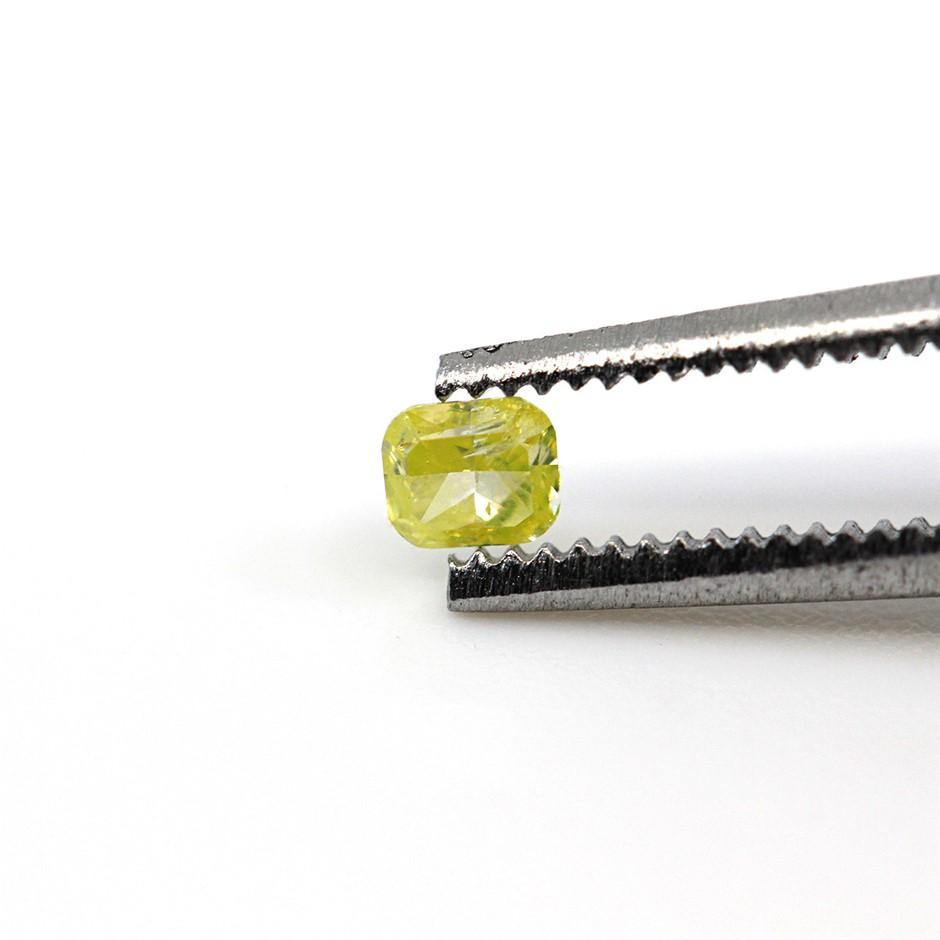 0.09 ct Yellow Diamond