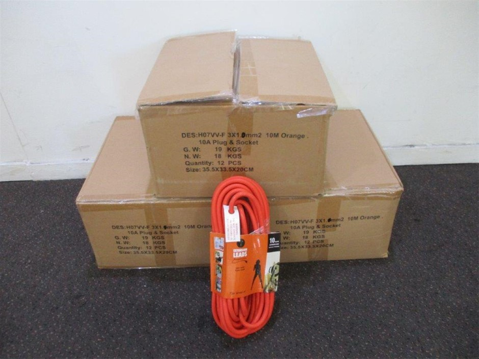 3 x Cartons of 10m Extension Lead HD