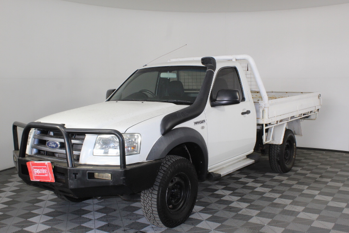 2007 Ford Ranger XL (4x4) PJ Turbo Diesel Manual Cab Chassis