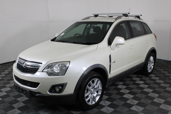 2012 (2013 Comp) Holden Captiva 5 4x4 T/Diesel Auto SUV
