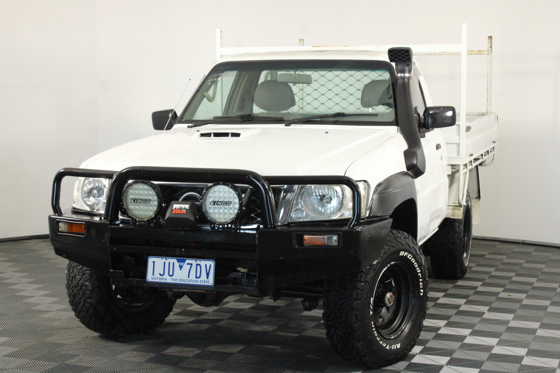2010 Nissan Patrol DX (4x4) GU Turbo Diesel Manual Cab Chassis