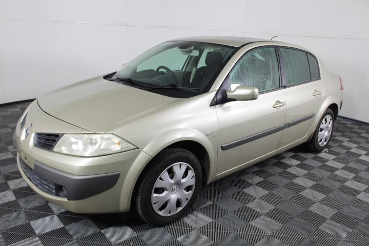 2007 Renault Megane Expression Automatic Sedan, 139,856km