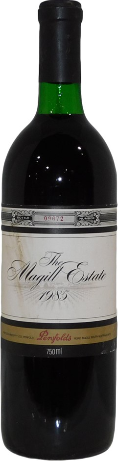 Penfolds The Magill Estate Shiraz 1985 (1 x 750mL), SA. Cork