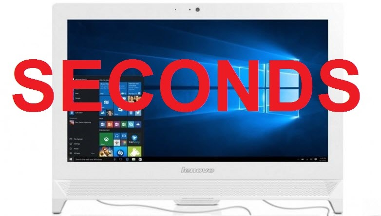 Lenovo C20-00 19.5-inch All-in-One PC, White