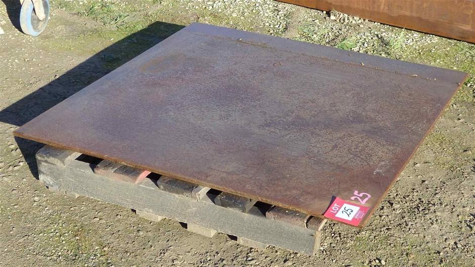 1 x Mild Steel Plate