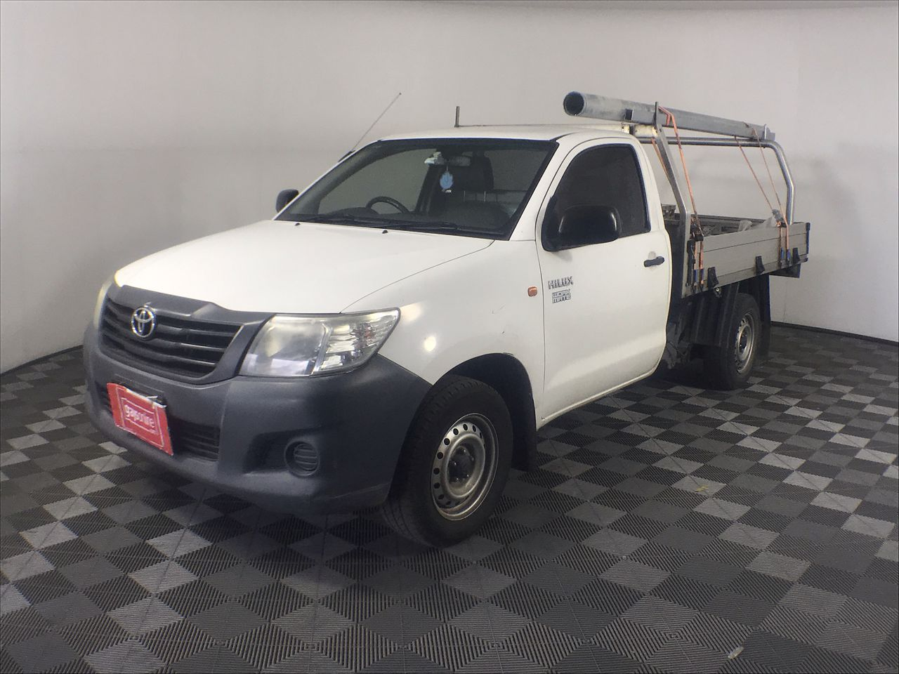 2011 Toyota Hilux Workmate TGN16R Manual Cab Chassis