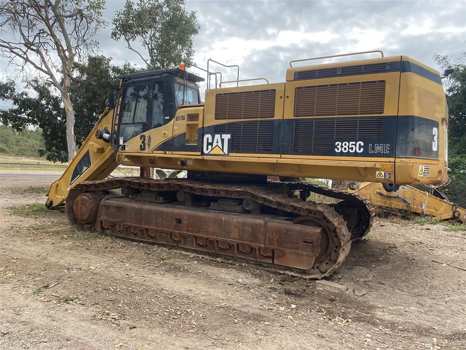 2006 Caterpillar 385C LME Hydraulic Excavator