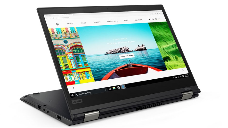 Lenovo ThinkPad Yoga X380 13.3-inch Notebook, Black