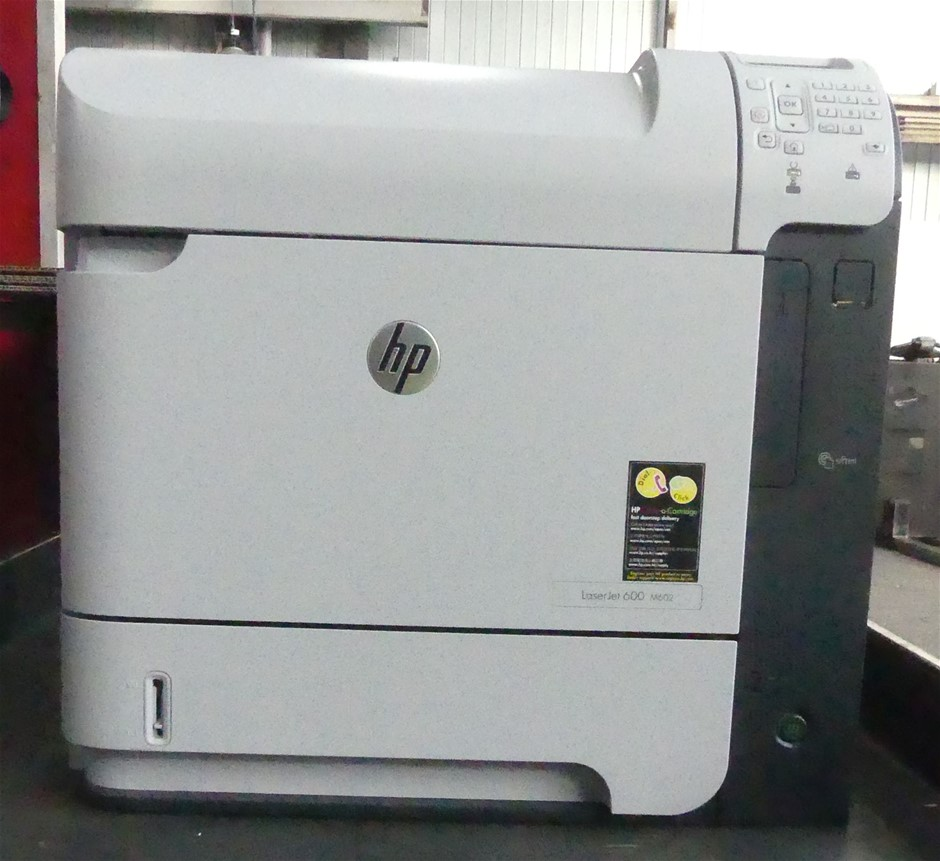 HP LaserJet 600 M602 mono Laser printer + Extra 500 Sheet Paper Tray