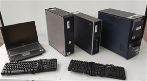 Bulk Lot Of Assorted Computers