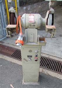 8 Inch Heavy Duty Bench Grinder Gmf Mark 5 3 Phase