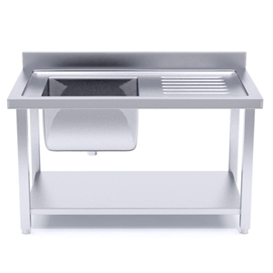 SOGA S/S Work Bench Sink Commercial Kitc
