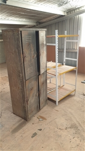 Metal Locker and Shelving