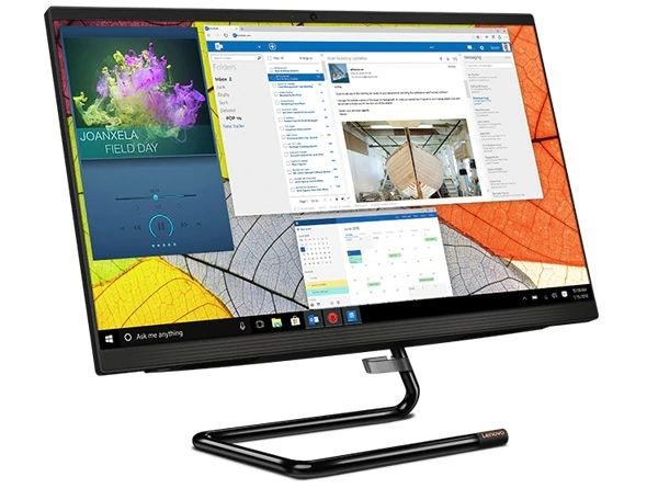 Lenovo IdeaCentre A340-24ICB 23.8-inch All-in-One PC, Black