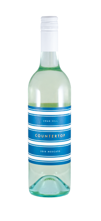 Countertop Moscato 2019 (12 x 750mL) Swan Hill, VIC