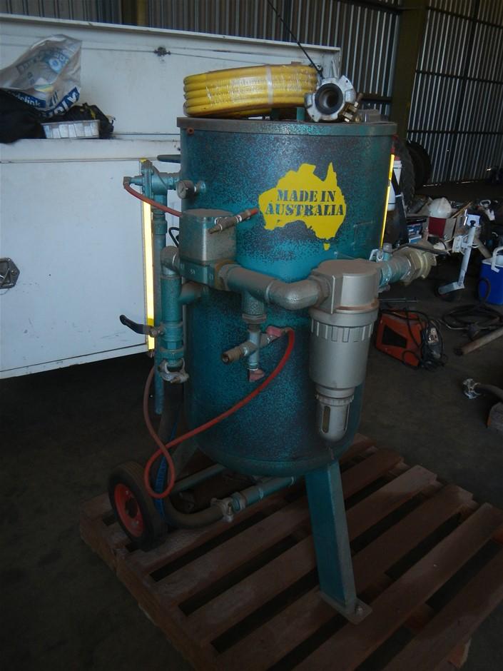 2009 Abrasive Blasting Services and Supples Pty Ltd ABS-140 Blast Pot