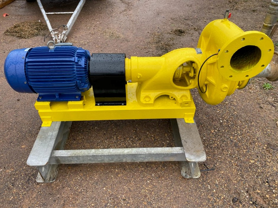 Teco Motor with Scruttons Pump 3 Phase Electric