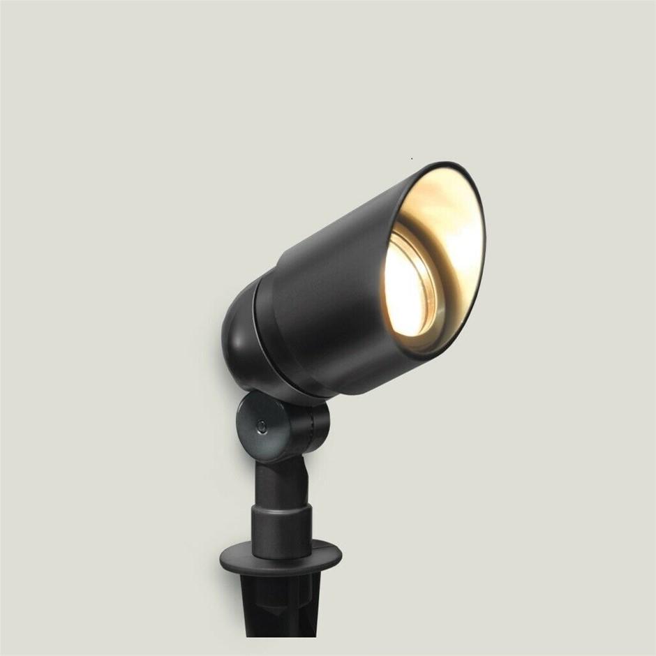 HPM 12V Garden Light Spotlight 10W DIY Aluminium Black IP67 RGLVSBL
