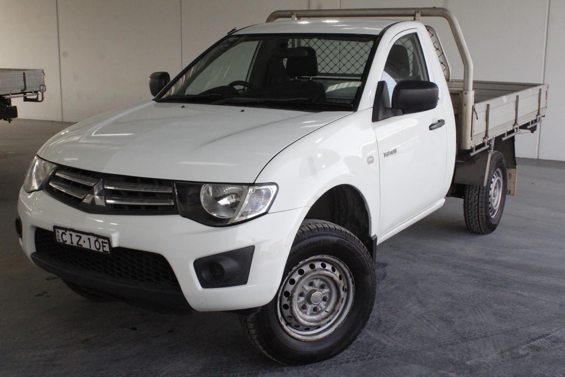2014 Mitsubishi Triton GLX MN Turbo Diesel Automatic Cab Chassis