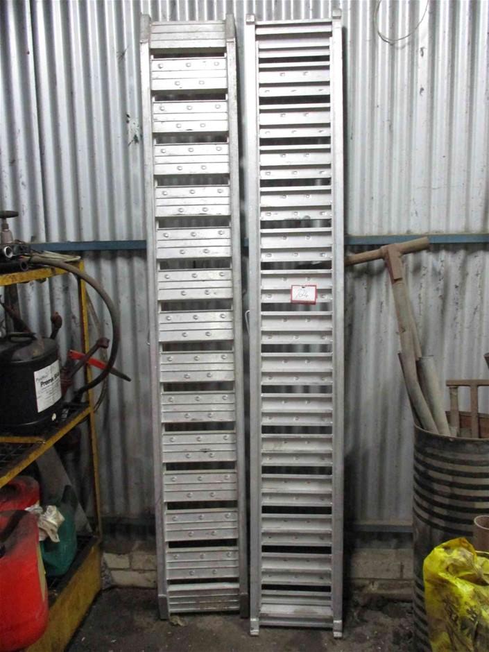 Aluminum Loading Ramps