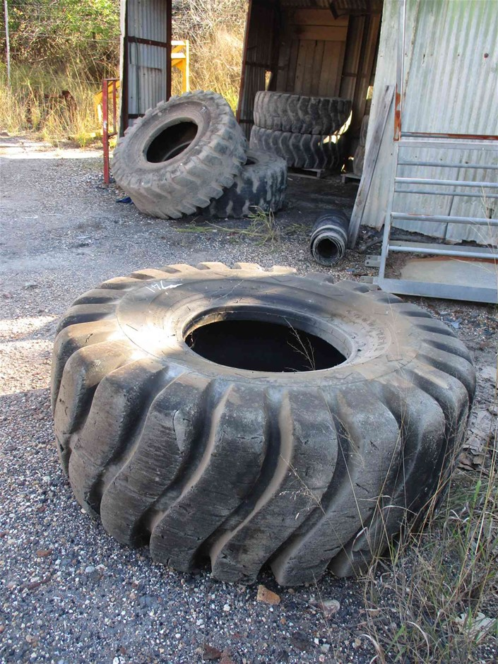 Assorted Off Road Truck Tyres