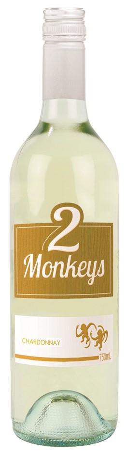 2 Monkeys Chardonnay 2020 (12 x 750mL) SEA