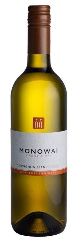 Monowai Winemaker`s Selection Sauvignon Blanc 2020 (12 x 750mL) Hawke`s Bay