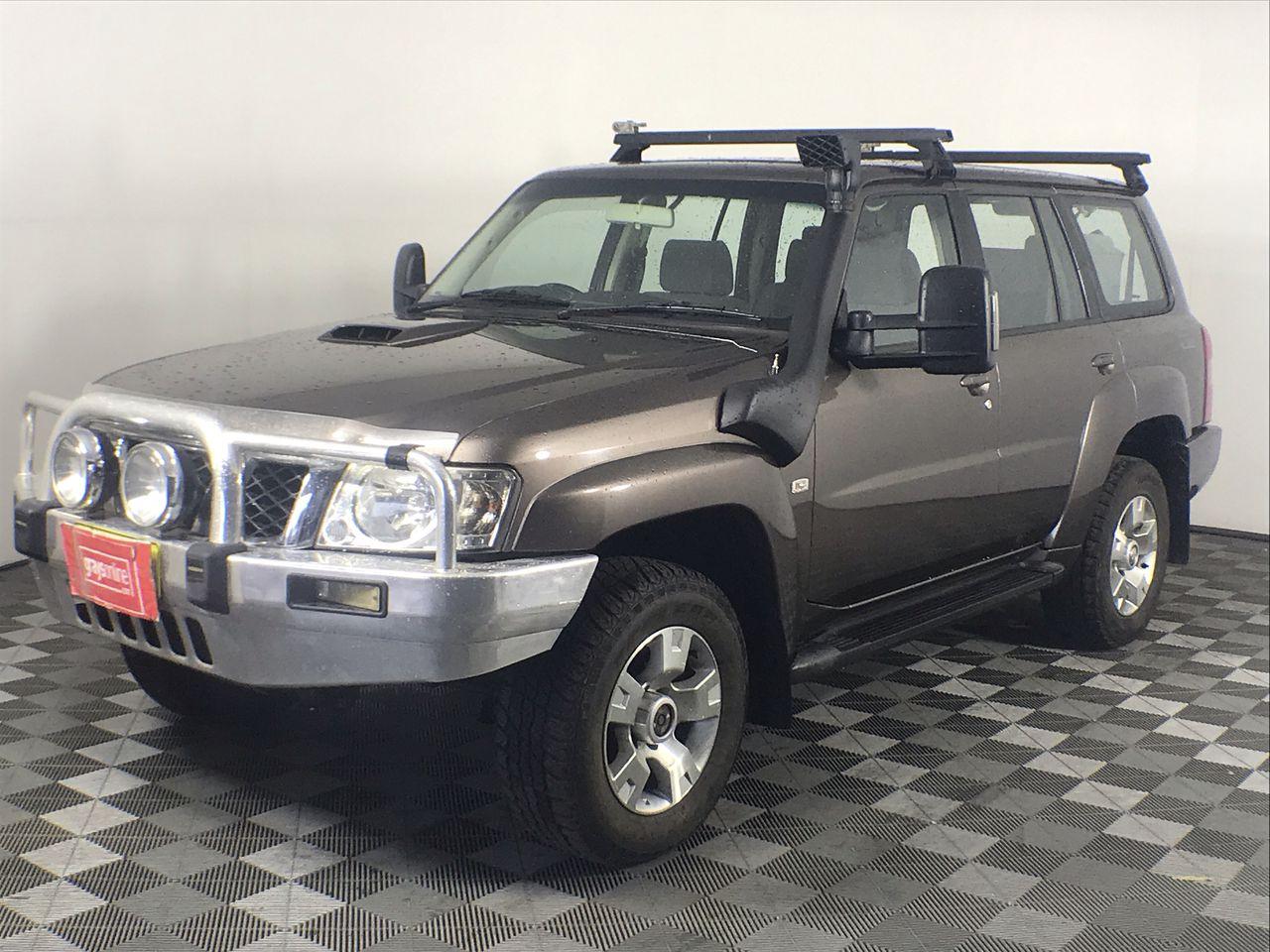 2011 Nissan Patrol DX (4x4) GU Turbo Diesel Auto 7 Seats Wagon