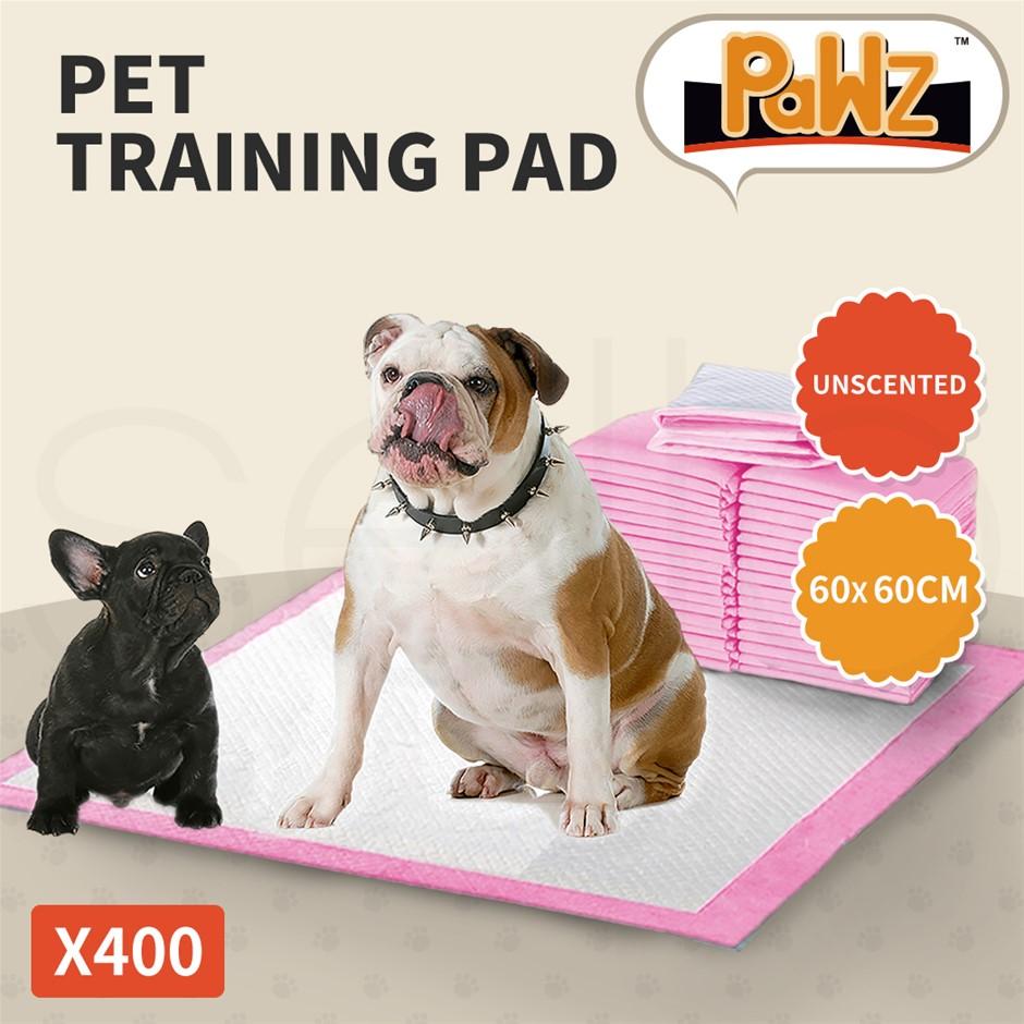 PaWz 400pc 60x60cm Pet Dog Indoor Cat Toilet Training Pads Absorbent Pink