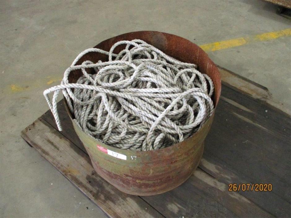 Half Drum Qty Unused Rope
