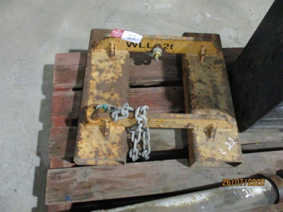 Forklift Jig
