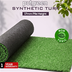 80SQM Artificial Grass Lawn Outdoor Synt