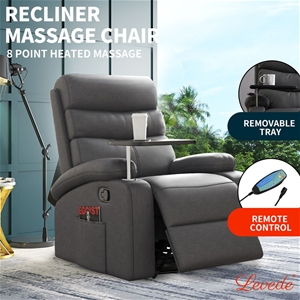 Levede Massage Chair Recliner 8 Point He