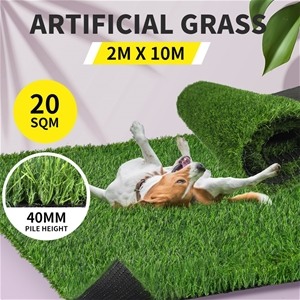 40MM Artificial Grass Synthetic 20SQM Pe