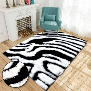 Ultra Soft Shaggy Rug Shag Floor Mat Car