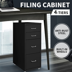 Metal File Cabinet Steel Orgainer With 4