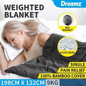 DreamZ 9KG Weighted Blanket Promote Deep