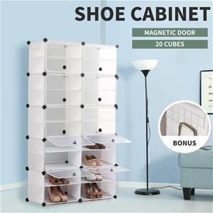 Cube Cabinet DIY Shoe Organiser Rack She