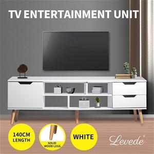 Levede TV Cabinet Entertainment Unit Sta