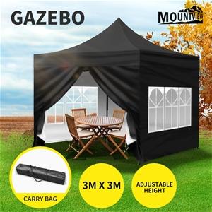 Mountview Gazebo 3x3m Pop Up Marquee Ten