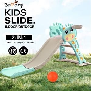 BoPeep Kids Slide Outdoor Basketball Rin