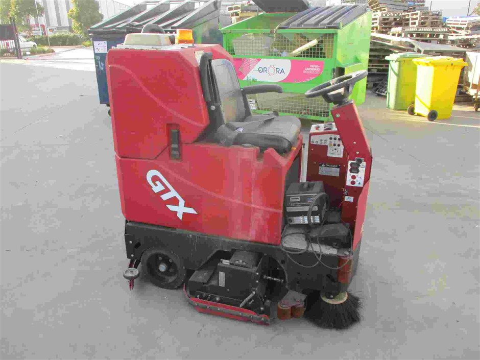 GTX 34-C Electric Ride On Floor Sweeper