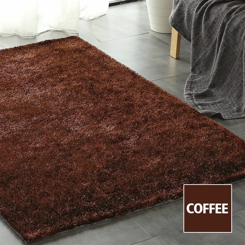 Floor Rugs Shaggy Rug Shag Area Confetti Carpet Soft Mat XL Living Room