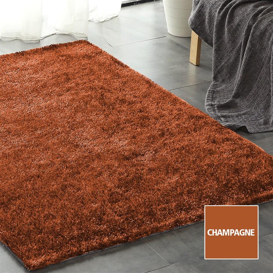 Floor Rugs Shaggy Ultra Soft Shag Confetti Carpet Anti-Slip Living Room Mat
