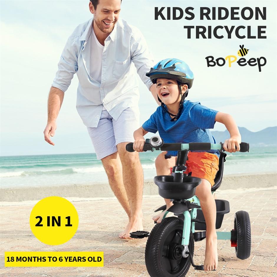BoPeep Baby Walker Kids Tricycle Ride On Trike Bike Toddler Bicycle