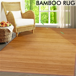 Floor Rugs Area Carpet Bamboo Mat Bedroo