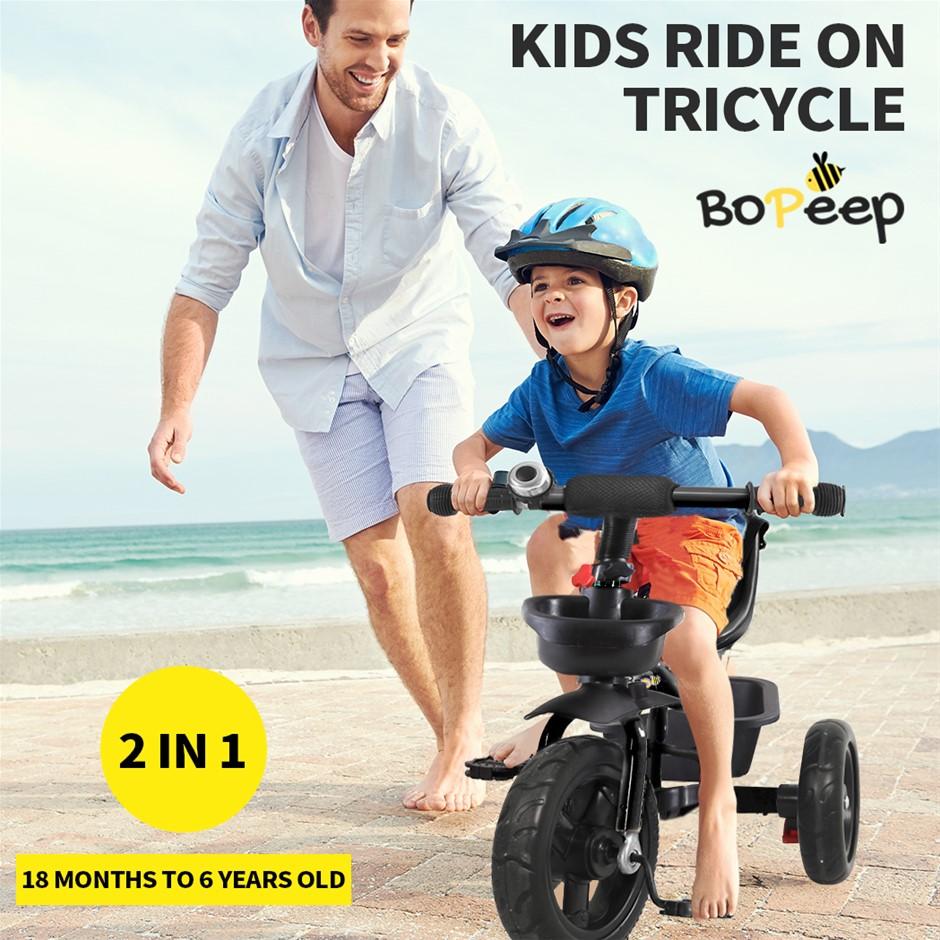 BoPeep Baby Walker Kids Tricycle Ride On Trike Toddler Children Bicycle
